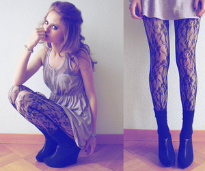 fashion, forever 21, and lace image