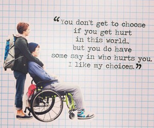 love, the fault in our stars, and quote image