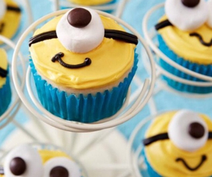cupcake, minions, and sweet image