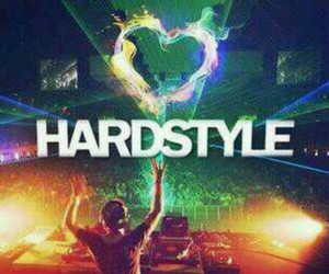 music and hardstyle image