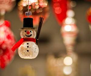 christmas and snowman image