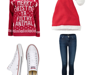 christmas, converse, and cool image