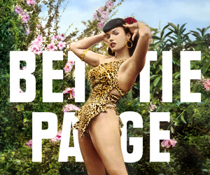 Bettie Page, Pin Up, and vintage image