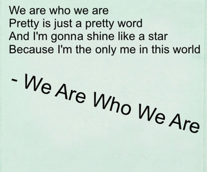 we are who we are and little mix image