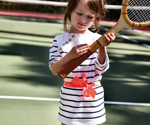 girl, tommy hilfiger, and kidswear image