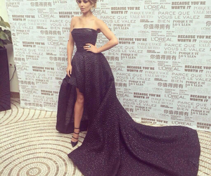 black dress, Cheryl, and dress image