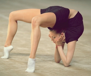 contortion, gym, and flexibility image