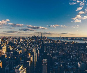 city, beautiful, and new york image
