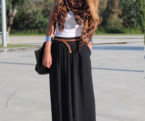style, skirt, and outfit image