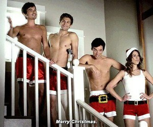 christmas, merry christmas, and tyler blackburn image