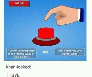 funny, tumblr, and fandom image