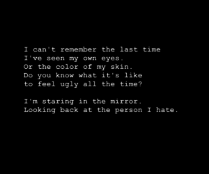 depression, quote, and text image