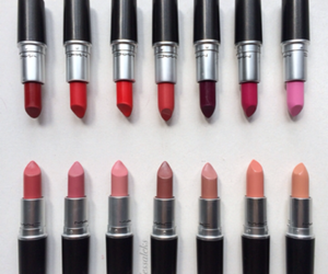 colour, girl, and Lipsticks image