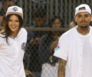 chris brown and kendall jenner image