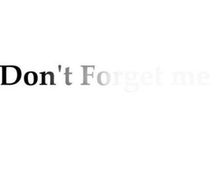 do, forget, and me image