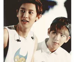 baekhyun, chanyeol, and exo image