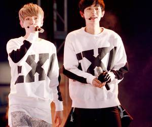 korean, baekyeol, and chanyeol image