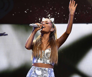 ariana grande, Queen, and white image