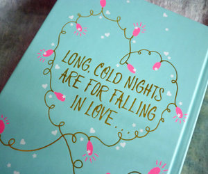 cold, night, and book image