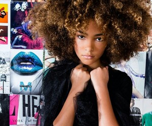 Afro, hair, and pretty image