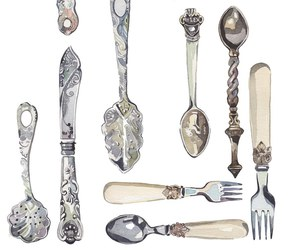 art and spoon image