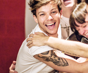 happy, smile, and louis image