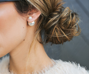 accessories, chic, and earring image
