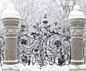 cold, gate, and home image