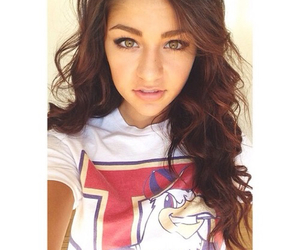 andrea russett, hair, and selfie image