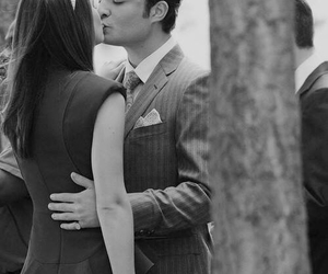 chuck bass, couple, and love image