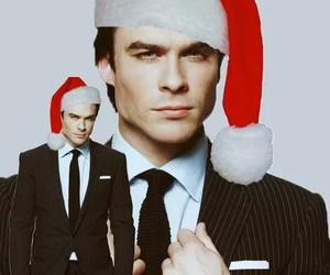 ian somerhalder, christmas, and Hot image