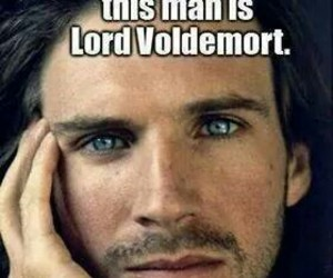 harry potter, voldemort, and eyes image
