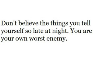 enemy, night, and believe image