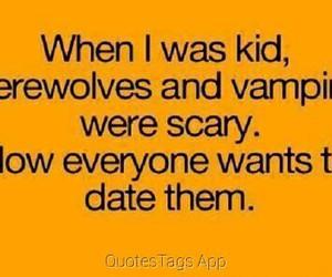 vampire, werewolf, and date image