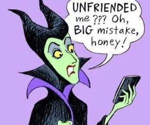 disney, facebook, and maleficent image