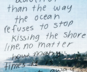 quotes, ocean, and beach image