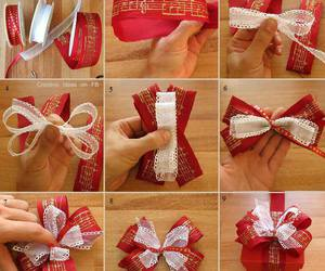 bows, christmas, and gifts image