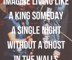 king for a day, kellin quinn, and vic fuentes image