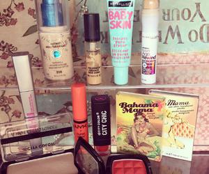 blush, cosmetics, and fashion image