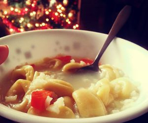 chicken soup, tree, and warm image