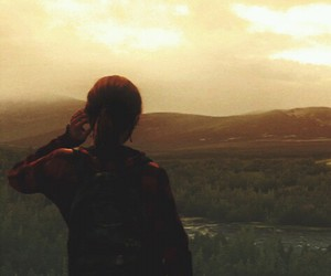 ellie, the last of us, and end image