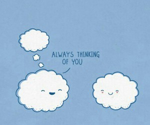clouds, love, and cute image