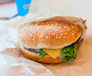 food, burger, and photography image