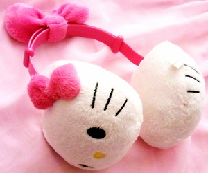hello kitty, pink, and fashion image