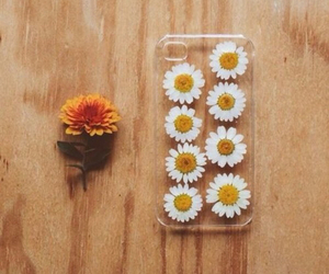 flowers, summer, and phone image