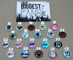 bands, fans, and magnets image