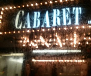 cabaret, crowded, and lights image