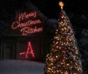 christmas, pretty little liars, and pll image