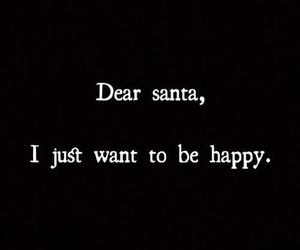 happy, christmas, and santa image