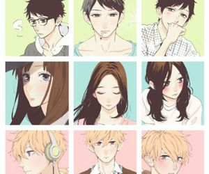 hirunaka no ryuusei, manga, and daytime shooting star image